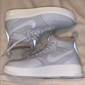 High Top Nike Air Force 1's